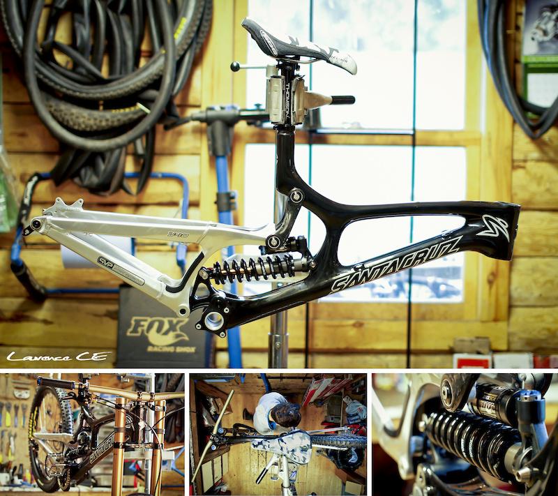 A few photos from the latest build timelapse video - Santa Cruz V10 Carbon Head here to watch it now...http www.pinkbike.com video 226586 - Laurence CE - www.laurence-ce.com