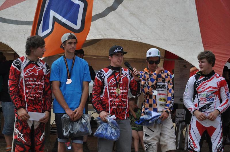 Ricky Clarke - Trailmix-Procon Racing Podium