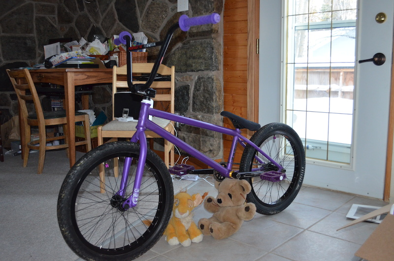 new fork cks and wtp all day grips and eclat pedals loden