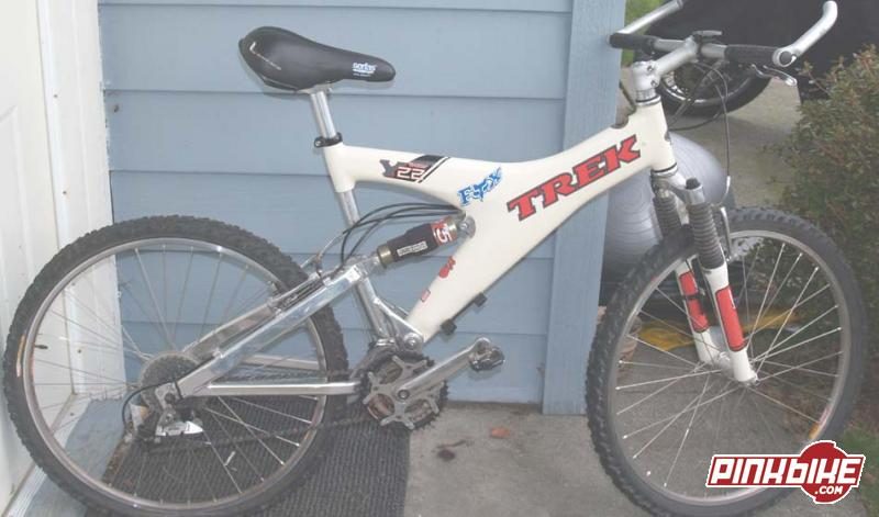 Trek Y22 Carbon Fiber Frame White For Sale