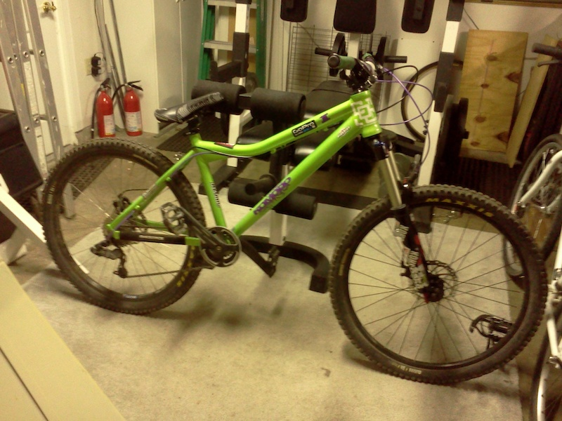 2011 jamis komodo 2 hardtail freeride bike for sale