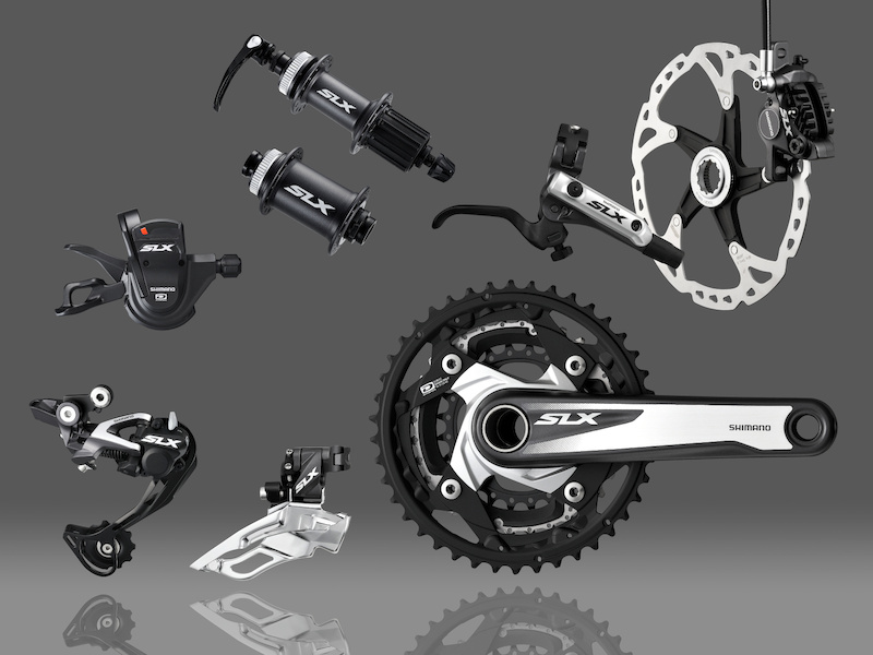 The 2013 SLX group looks great and it is nearly as brilliant on the technical side as XTR. We expect to see SLX on performance bikes priced in the 3000 range.