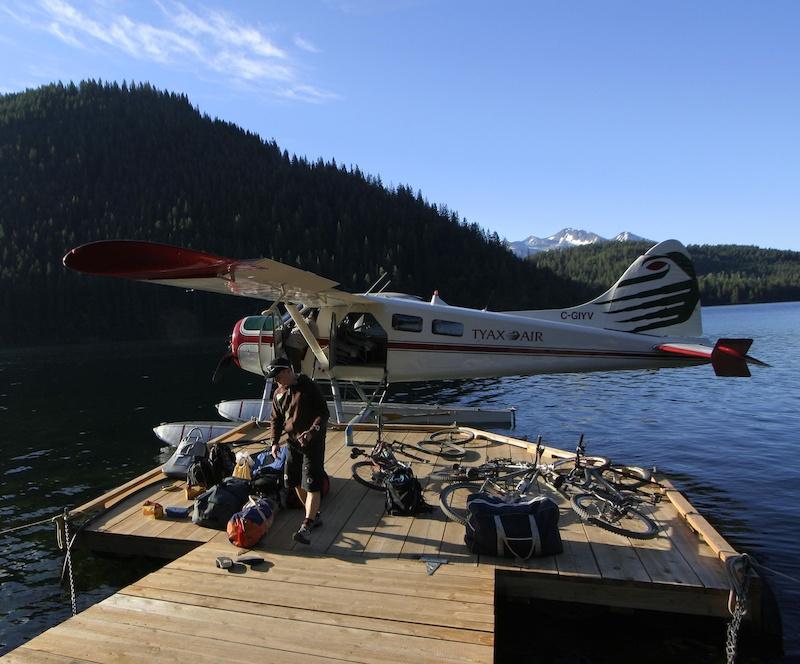 Tyax ventures float plane.