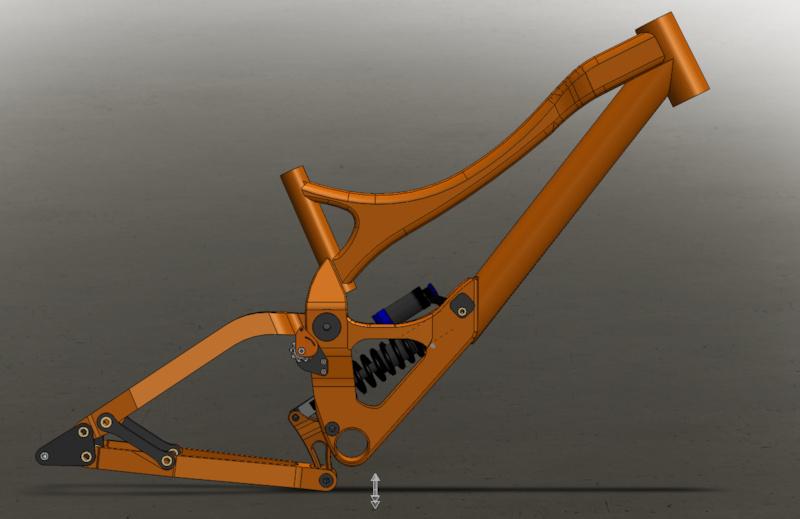 df-350 frame