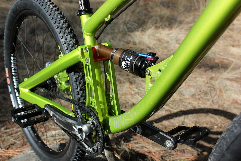 New Shine for 2012 from Dartmoor Chromag Canadian rider Scott Alleyn.