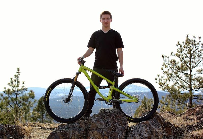 New Shine for 2012 from Dartmoor Chromag Canadian rider Scott Alleyn.
