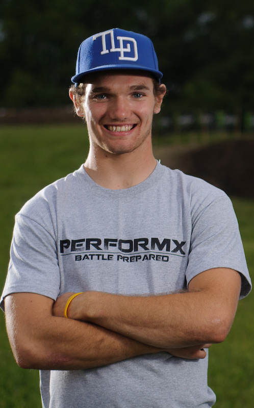 Pro MX racer and PerformX Young Guns crossover downhiller Shawn Maffenbeier.