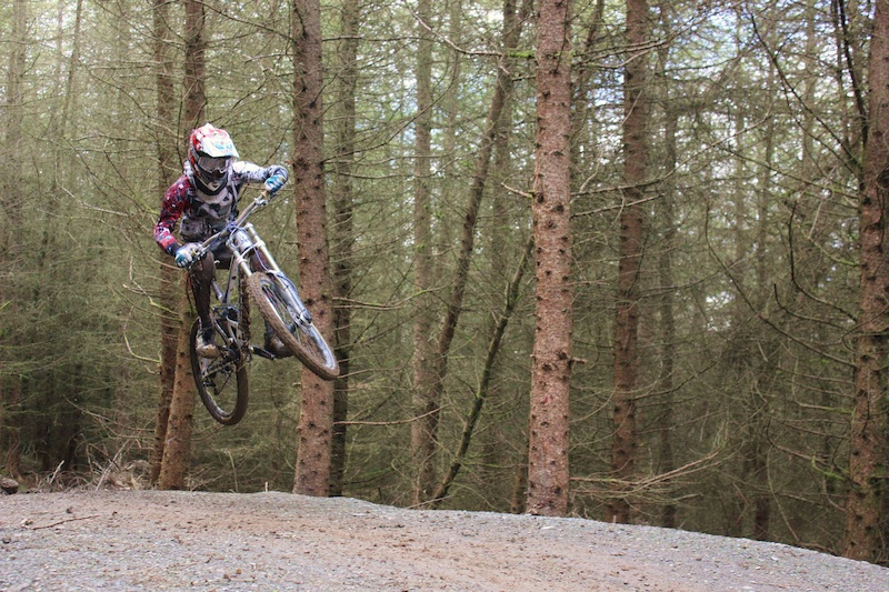 Just a casual day riding in Llangynog track was amazing overall a good day!