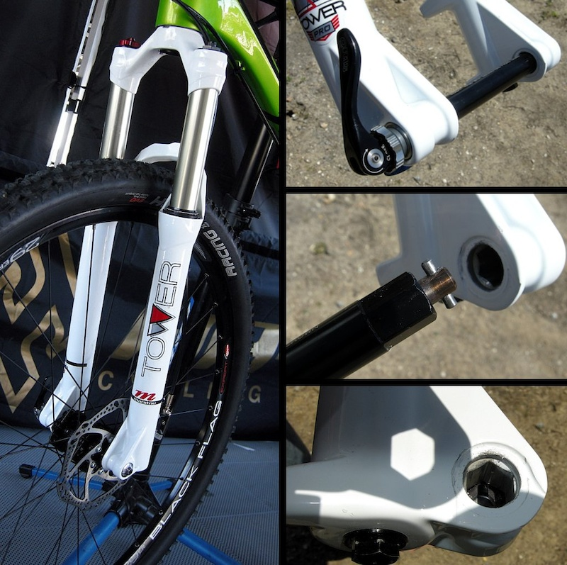 Tower 29er fork and Hexlock QR15 axle