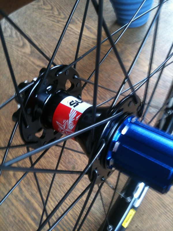 rear wheel EVO hub 135mm