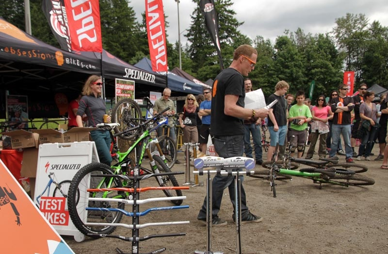 SuperD race on Mount Seymour - northshoreripper.com trilogy super-d. Held over over the weekend of June 8 - 10th along with the free MEC Bikefest at Interriver Bike