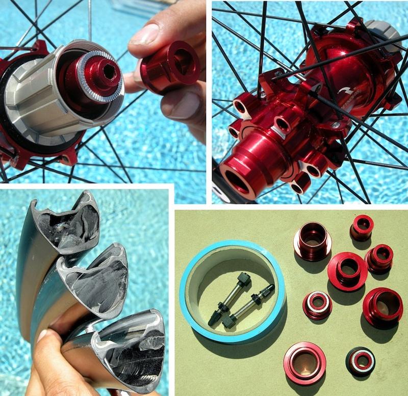 Reynolds Carbon AM wheelset details