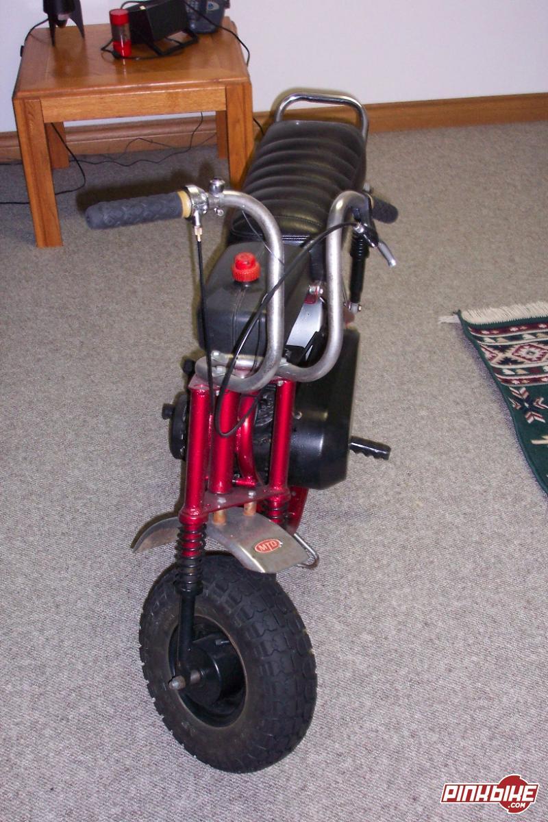 Mtd Mini Bike : Mtd old school mini bike for sale