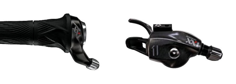 SRAM XX1 11 speed GripShifter and trigger Shifter