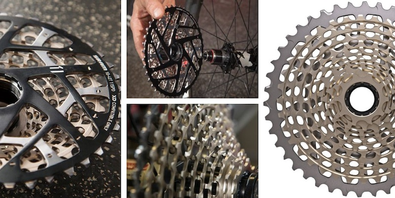SRAM XX1 casssette and DT Swiss freehub design