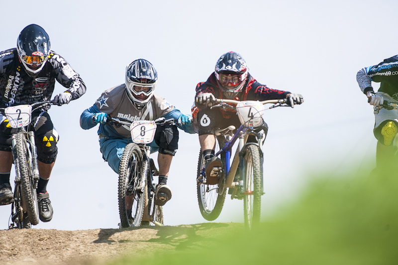 during round 5 of the Schwalbe British 4x Series at South West Extreme Barnstaple Devon United Kingdom 11August 2012 Photo Charles Robertson