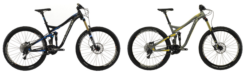 2013 Norco Range Killer B2 and B3
