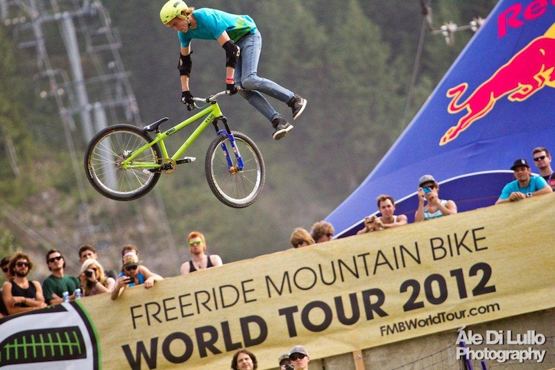 Red Bull Joyride 2012 winner young Belgian Thomas Genon