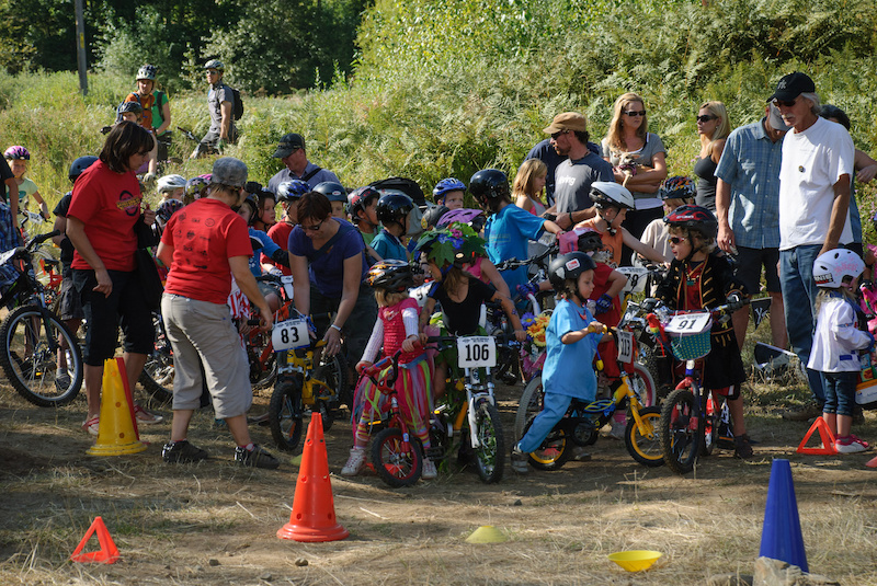 The kids course is back with a newly buffed pumptrack with expert and intermediate lines. Sept. 8 in Rossland BC. Vince Boothe photo.