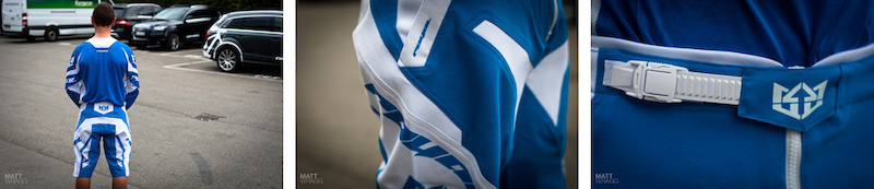Royal Race jersey and short details