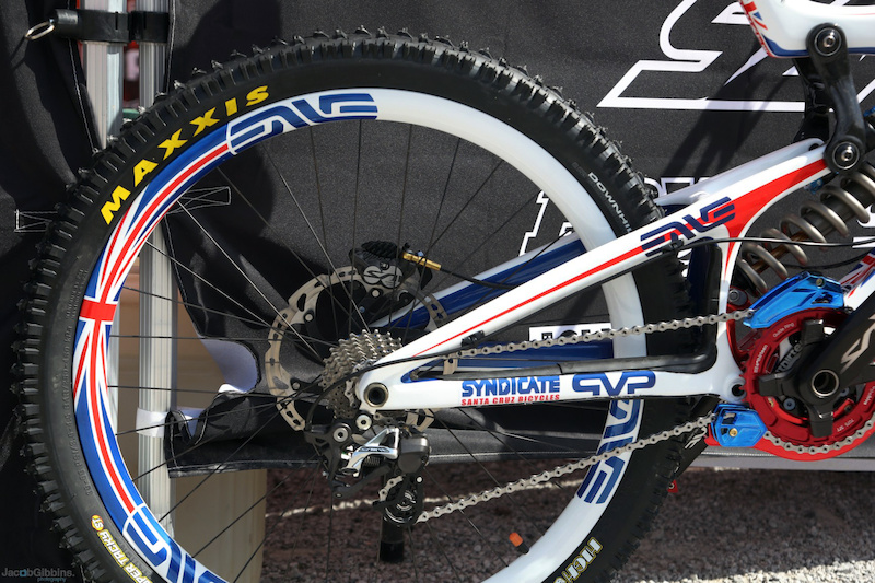 Steve Peat's 2012 World Champs bike - image by Jacob Gibbons