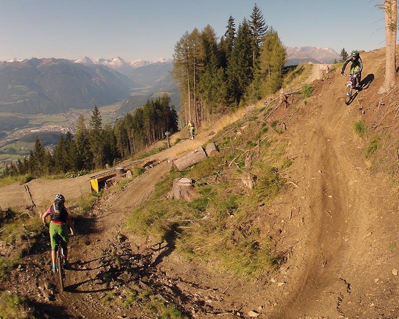 Kronplatz Herrnsteig freedide downhill trail