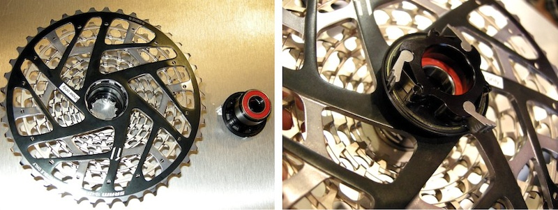 SRAM XX1 XD freehub and 11speed cassette