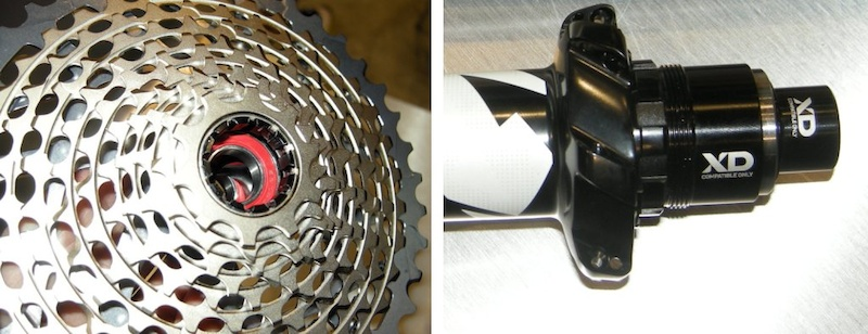 SRAM XD drive and X-Dome cassette mech