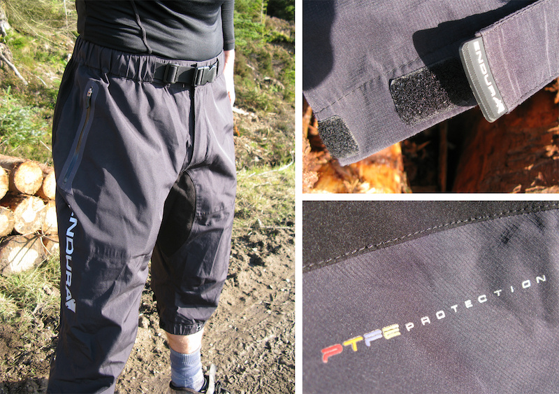 Endura Venturi II PTFE 3/4 Waterproof Shorts
