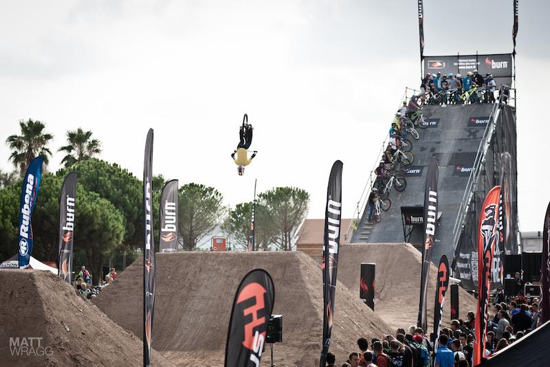 Roc D'Azur 2012 dirt jumping.