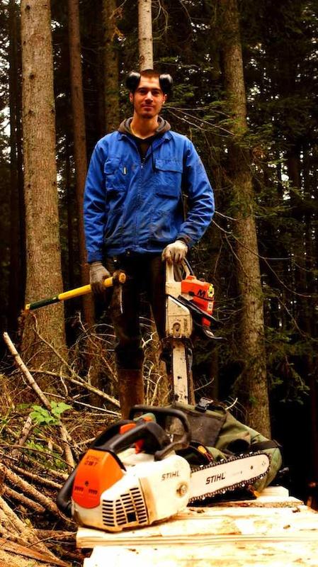 Etienne Gurnel our logger