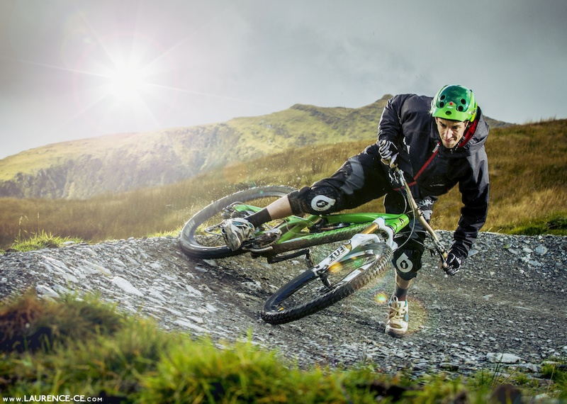 Neil slaying some corners at Wales' newest DH hot spot Antur Stiniog - Laurence CE - Stories // Captured in Pixels // The Adventure of One // Find it at www.laurence-ce.com