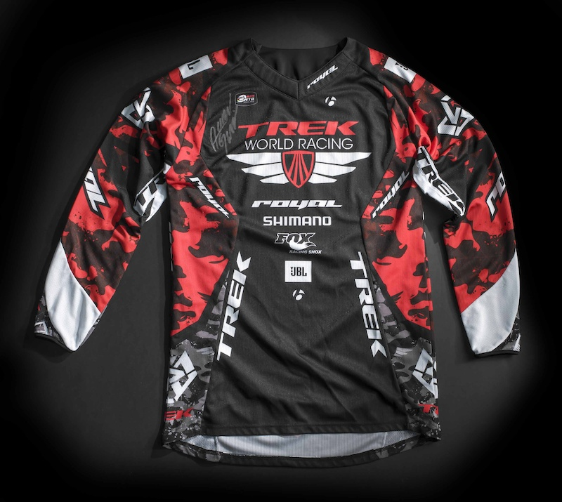 Signed Aaron Gwin Jersey