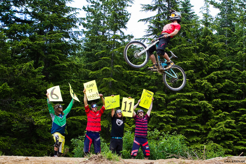 Evan Schwartz, Curtis Robinson, Mason Mashon, Kyle Norbraten, Callum Jelley, Whistler, BC