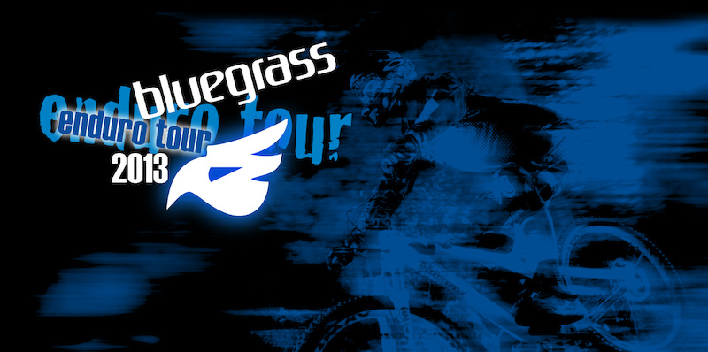 Logo for the Bluegrass Enduro Tour