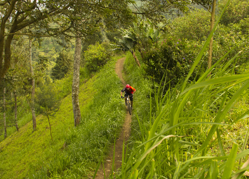 bike trip in indonesia