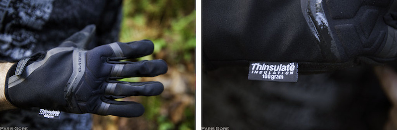 Dakine White Knuckle Gloves are perfect for when it gets just cold enough that you really really want something more than the Royal Mercury gloves. The key is the 100 grams of Thinsulate insulation.
