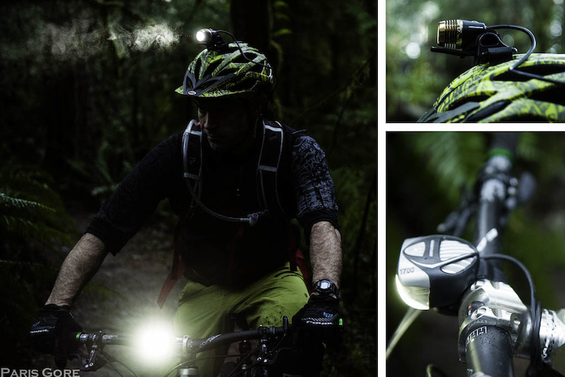 Brighter than God the Light Motion combo of the Seca 1700 Race and the Stella 300. It s the ultimate night riding set up for the darker months. The lights are compact and both the lights and the batteries are easy to mount to bike or helmet.