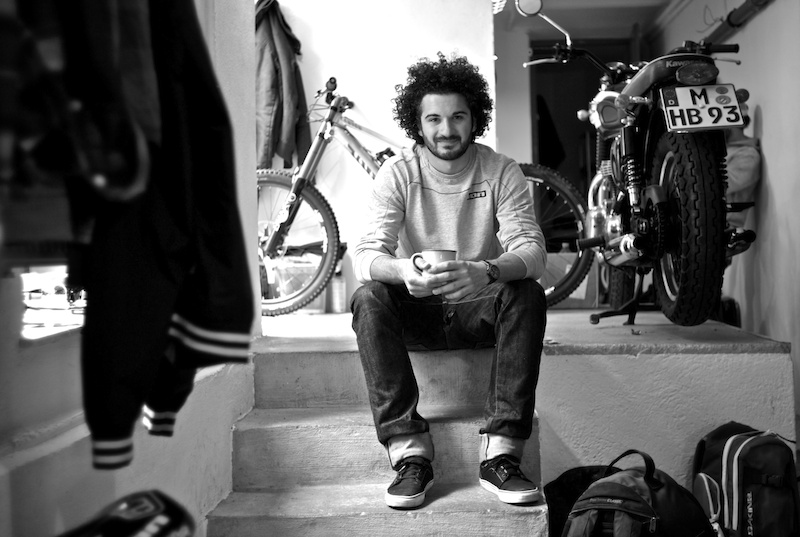 Rob J at the atelier photo by Yorick Carroux
