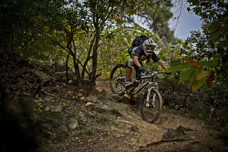 Mich le enjoying the autumn in Finale Ligure pic pic by Ben Heim