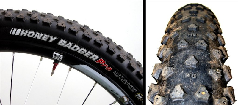 Kenda Honey Badger 27.5 tire