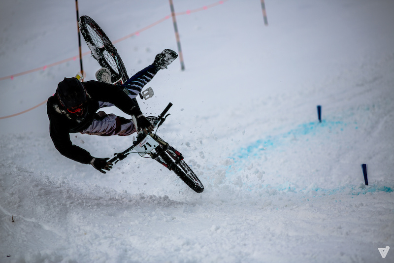 Forstbike Winter Downhill is goin on at Silver Star this weekend