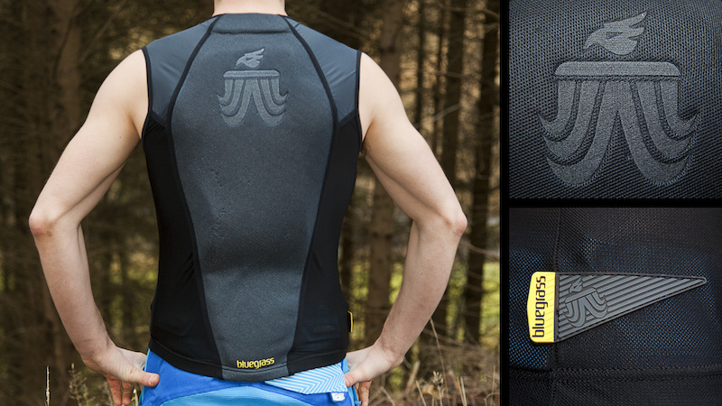 <br />Bluegrass Grizzly Lite back protector<br />