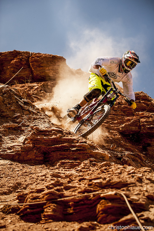Red Bull Rampage >> Cam Zink at Red Bull Rampage in Virgin, Utah, United States - photo by Laue - Pinkbike