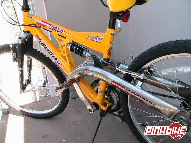 Infinity Aluminum 6000 Series Mountain Bike For Sale