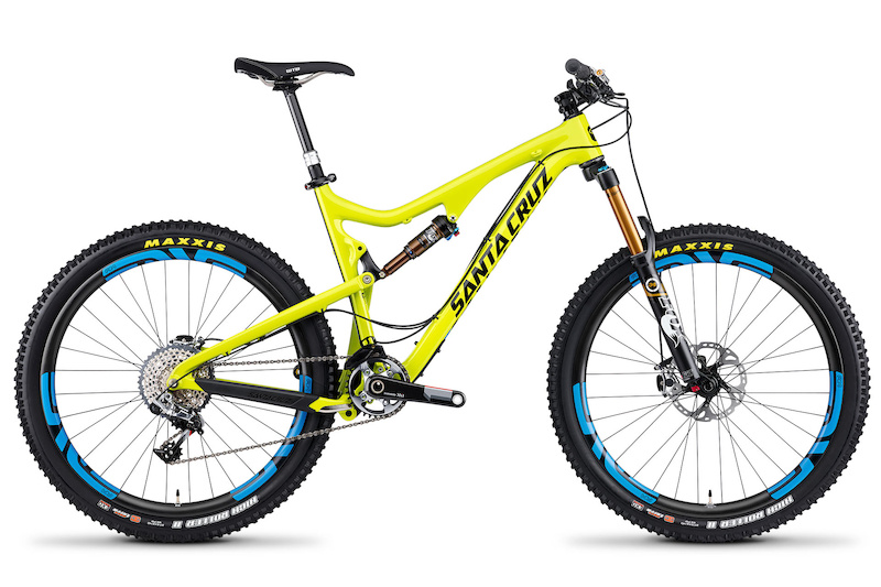 Bikepedia Specialized Stumpjumper Yellow Bronson C with Enve XXI