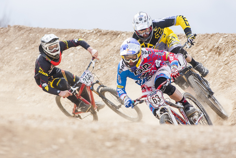 during round 2 of Schwalbe British 4X Series at Falmouth Cornwall United Kingdom. 21April 2013 Photo Charles Robertson