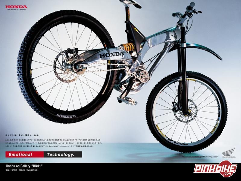 Honda Downhill Mountain Bike