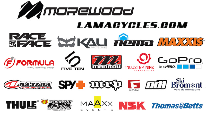 2013 Lama Cycles team sponsors
