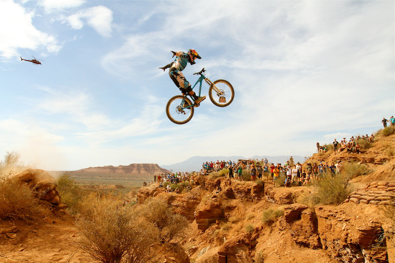 Anthony Messere nohander at Rampage 2012